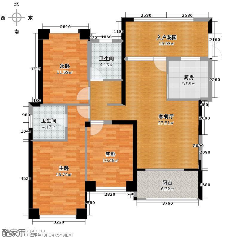 罗源湾滨海新城111.33㎡5区户型10室