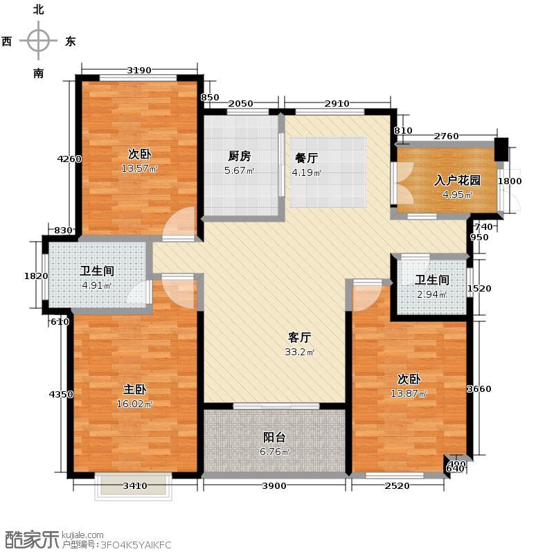 罗源湾滨海新城113.07㎡一至三区户型10室