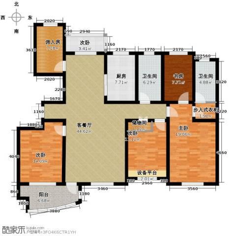 城市之星2室2厅1卫0厨135.88㎡户型图