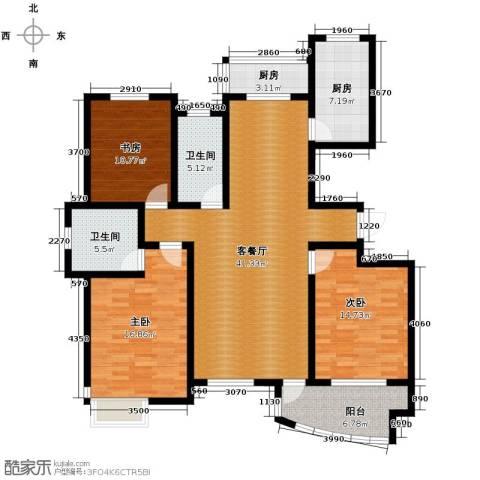 城市之星5室2厅2卫0厨186.00㎡户型图