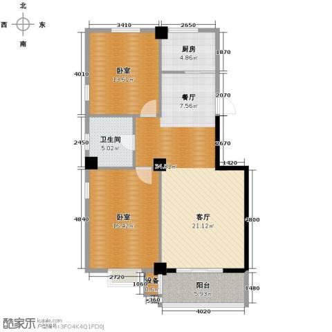海旺家园1卫1厨112.00㎡户型图