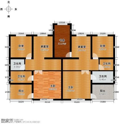 恒盛·藝墅3室0厅4卫0厨189.00㎡户型图