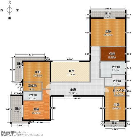 开维生态城5室1厅4卫0厨478.00㎡户型图