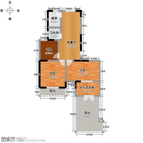 光盛豪庭4室2厅1卫0厨103.00㎡户型图