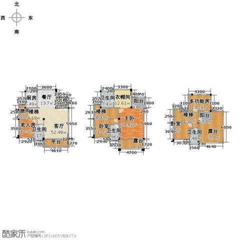 碧桂园城市花园5室2厅3卫0厨327.00㎡户型图