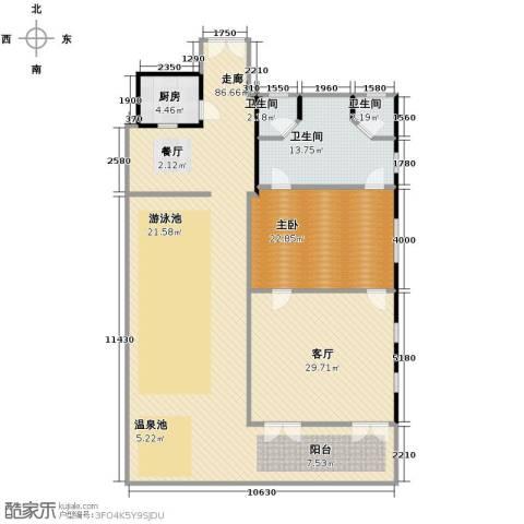 七仙瑶池1室1厅1卫0厨161.81㎡户型图