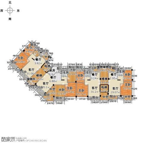 魅力之城9室4厅4卫1厨507.00㎡户型图