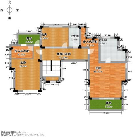 汀香别墅二期3室0厅2卫0厨318.00㎡户型图