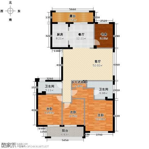曙光之城4室1厅2卫0厨165.00㎡户型图