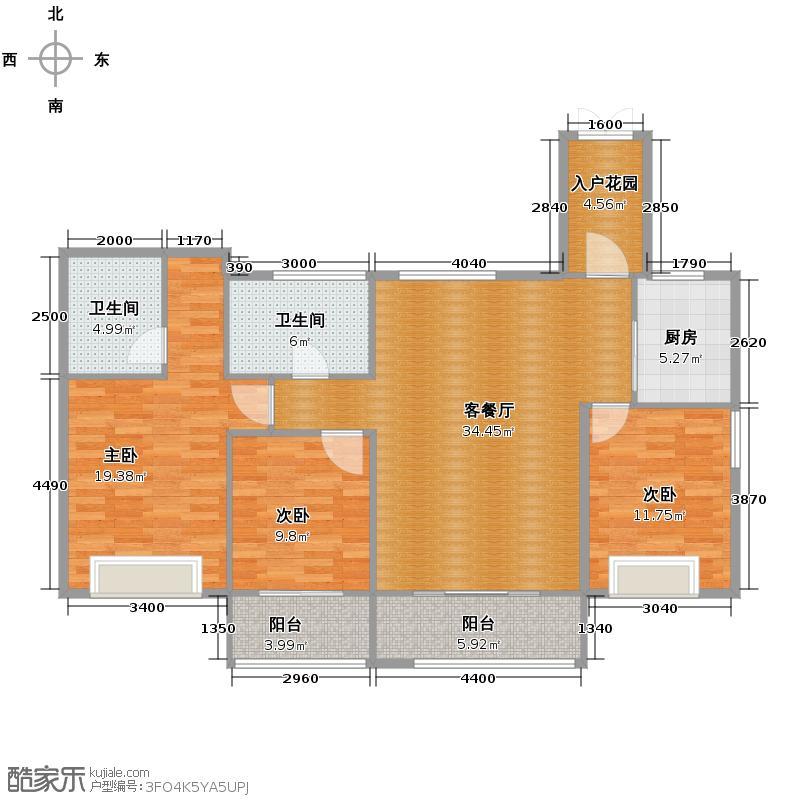 罗源湾滨海新城116.65㎡6区户型10室
