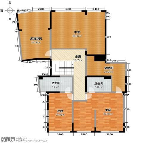 海威国际2室0厅2卫0厨295.00㎡户型图