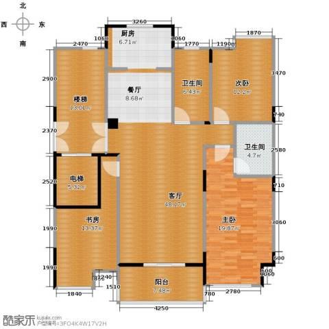左邻右舍3室1厅2卫0厨131.00㎡户型图