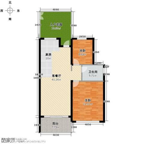 森林湖2室2厅1卫0厨115.00㎡户型图