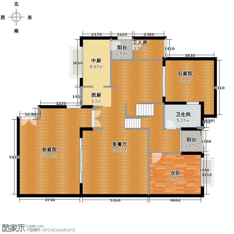 汇锦城151.83㎡宝安・江南城1014EQ42265户型1室1厅1卫