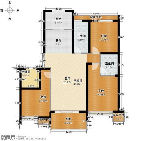 左邻右舍2室0厅2卫1厨113.70㎡户型图