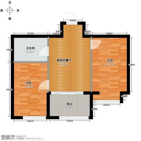 恒祥中山2室0厅1卫0厨75.00㎡户型图