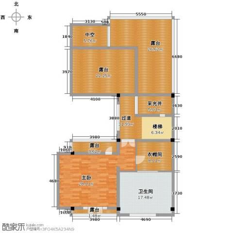 保利林语墅1室0厅1卫0厨130.43㎡户型图