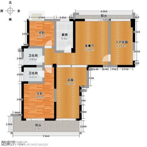 家天下146.00㎡户型图