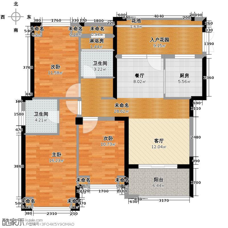 罗源湾滨海新城116.20㎡6区户型10室