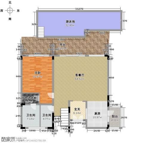 合景・汀澜海岸3室2厅3卫0厨211.00㎡户型图