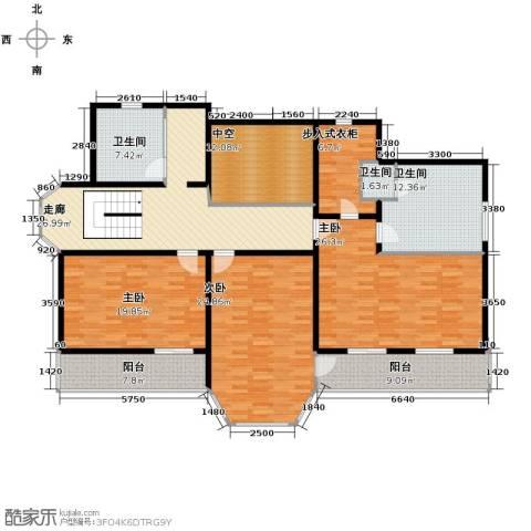 中浩青溪庄园158.00㎡户型图