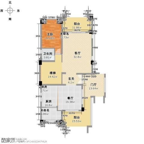 富力红树湾6室3厅3卫0厨240.00㎡户型图