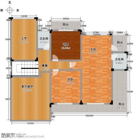 中浩青溪庄园169.79㎡户型图