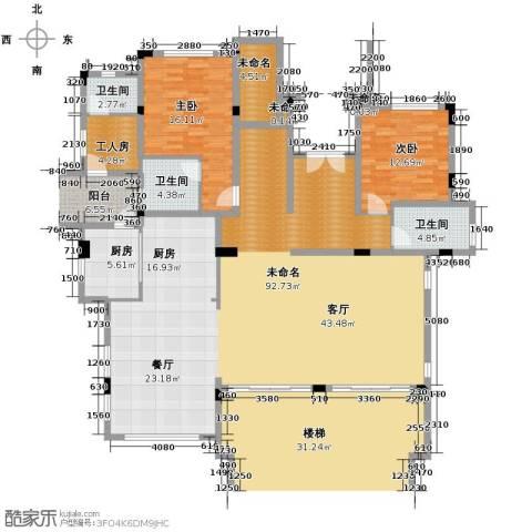 富力红树湾7室2厅5卫0厨302.00㎡户型图