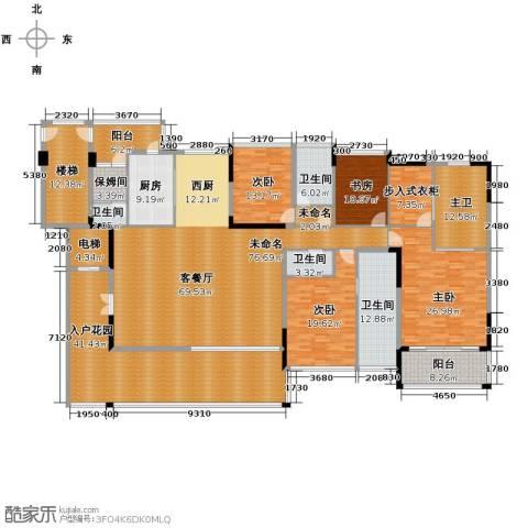合景・汀澜海岸4室2厅4卫0厨278.58㎡户型图
