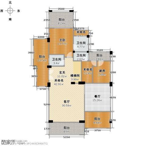富力红树湾7室3厅6卫0厨281.00㎡户型图