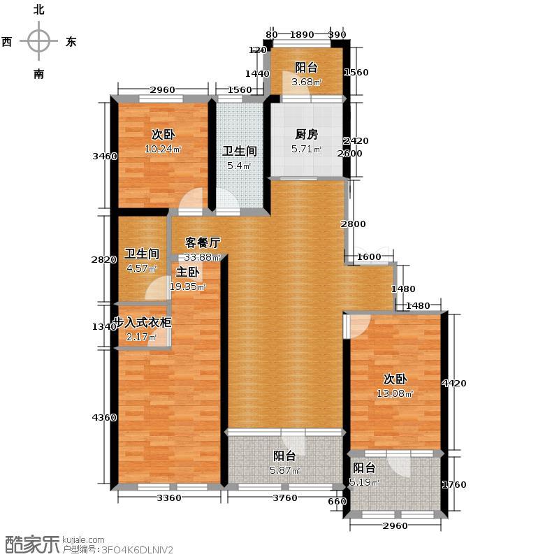 群力玫瑰湾D01/D15预测建筑面积16325至户型3室2厅2卫