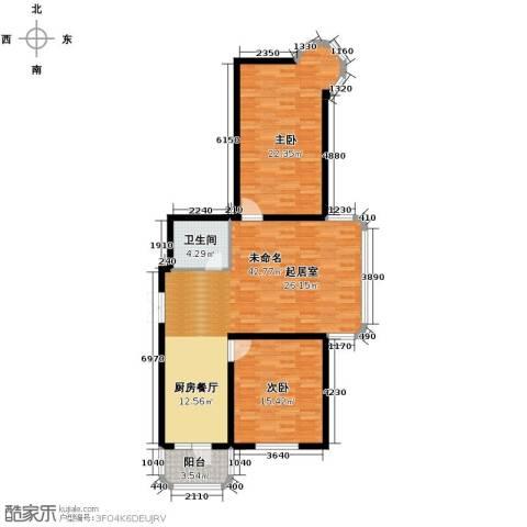 宝融上元府邸123.00㎡户型图