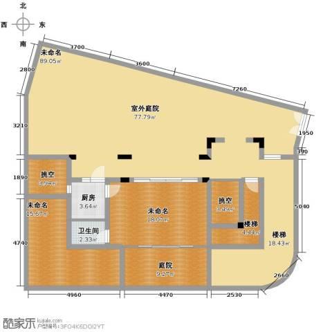 龙泉谷・三亚的山2室2厅1卫0厨149.90㎡户型图