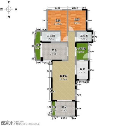 君和君泰1室1厅1卫0厨89.31㎡户型图