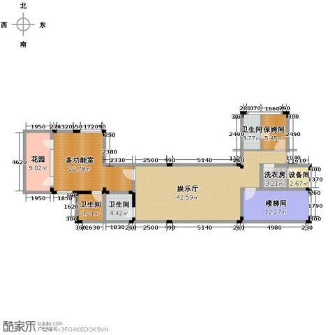 龙泉谷・三亚的山3室4厅7卫0厨126.00㎡户型图