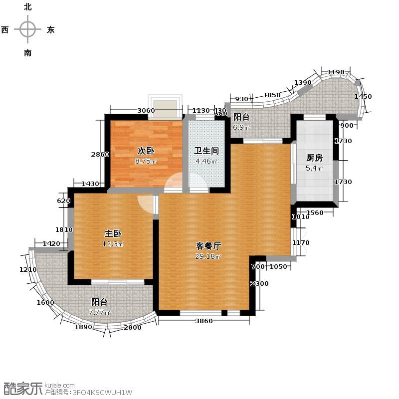 森林海89.52㎡G户型10室