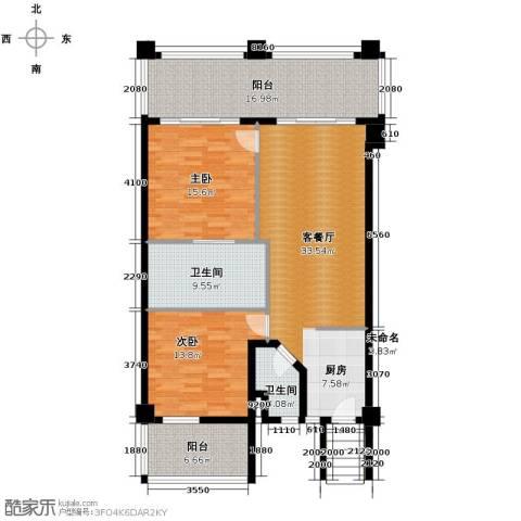 国光滨海花园140.00㎡户型图
