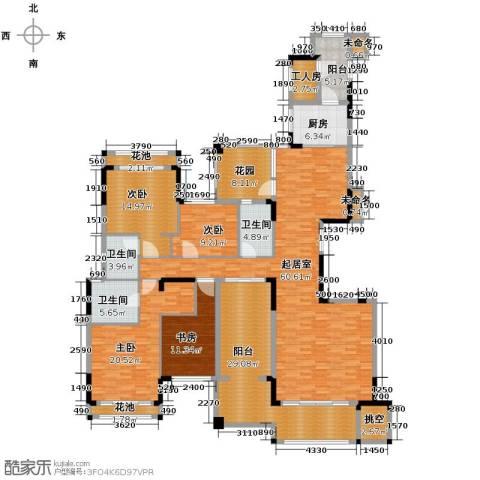 保利百合花园4室0厅3卫1厨272.00㎡户型图