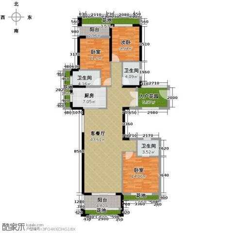君和君泰1室1厅1卫0厨120.04㎡户型图