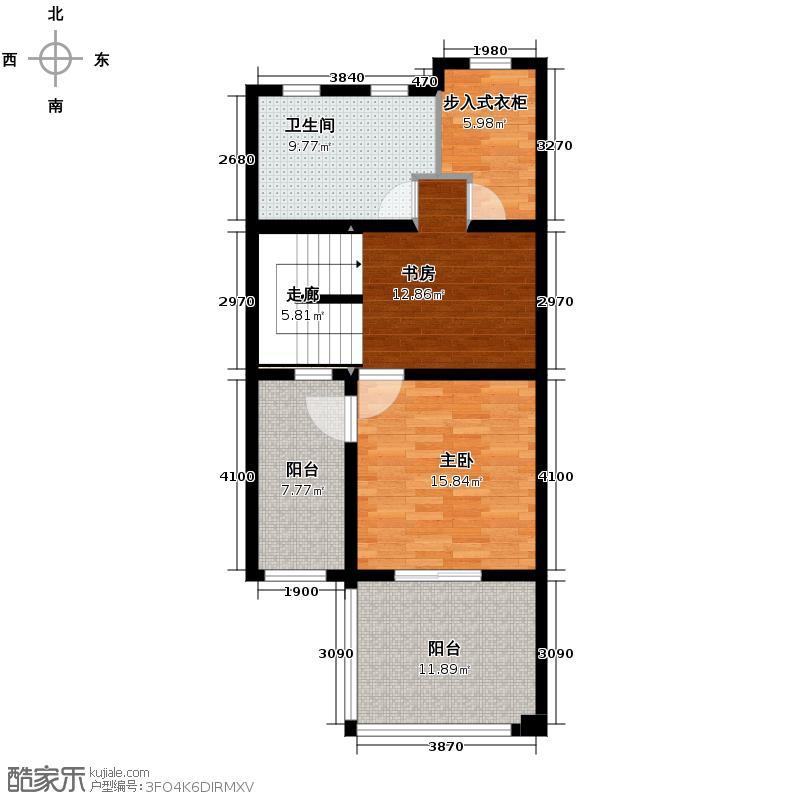 融侨观邸350.00㎡A3三层户型4室3厅5卫