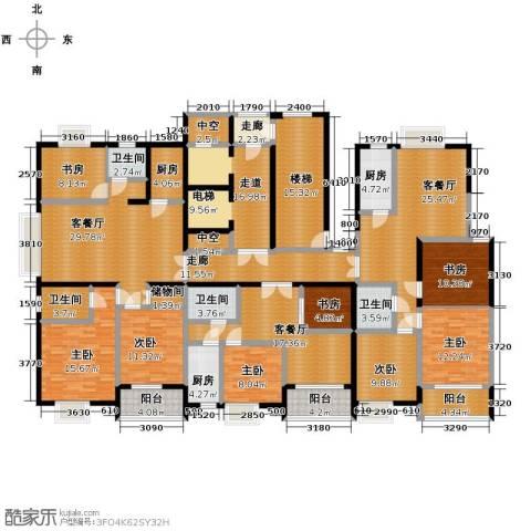 海天城8室3厅4卫3厨243.95㎡户型图
