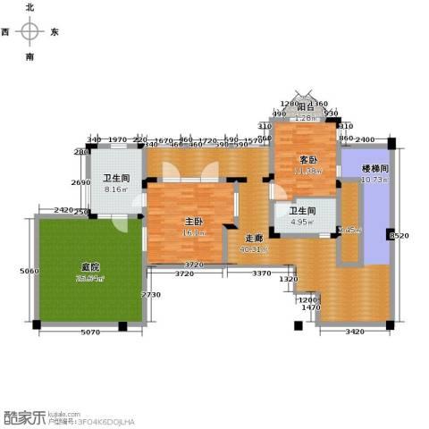 龙泉谷・三亚的山4室5厅9卫0厨111.27㎡户型图