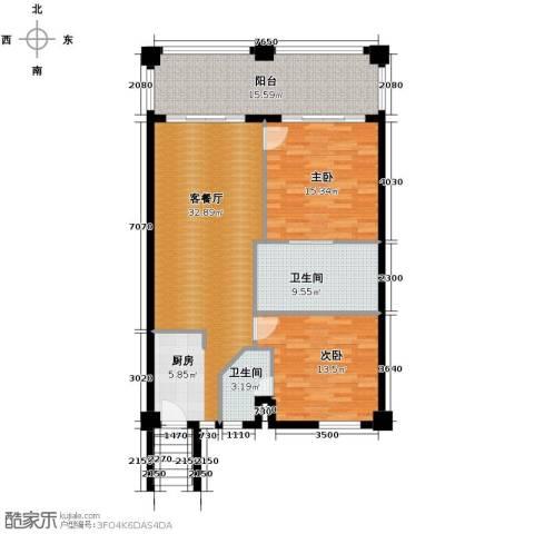 国光滨海花园125.00㎡户型图