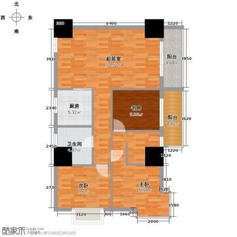 太阳岛公寓126.00㎡户型图
