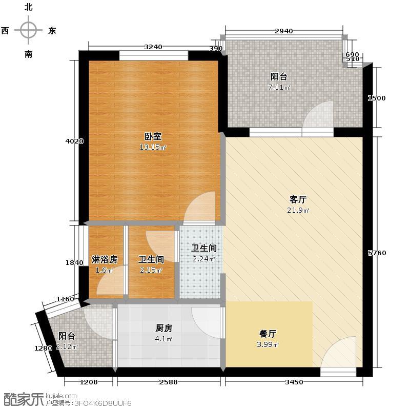 清平乐60.80㎡户型10室