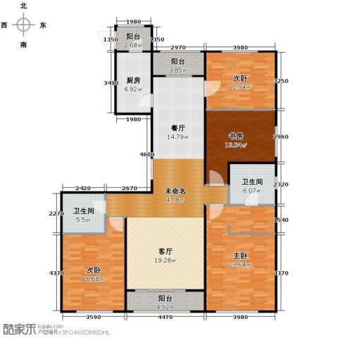 郁金台4室2厅2卫0厨193.00㎡户型图