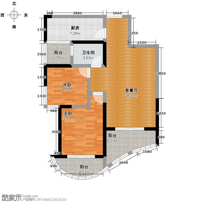 森林海94.40㎡H户型10室