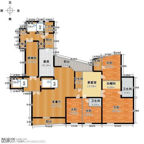 东方润园4室1厅5卫1厨362.60㎡户型图