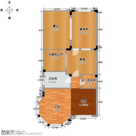 中海・金溪园1室0厅1卫0厨119.00㎡户型图