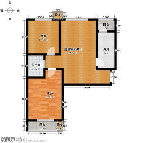 珠峰国际花园三期1室0厅1卫1厨92.00㎡户型图